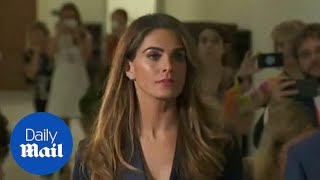 Hope Hicks arrives for House Judiciary Committee questioning thumbnail