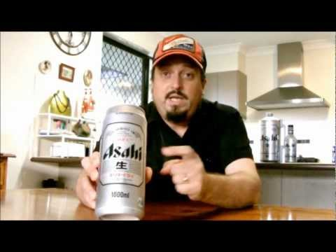 Asahi Super Dry (Revisited) 5.0% ABV - SwillinGrog Beer Review