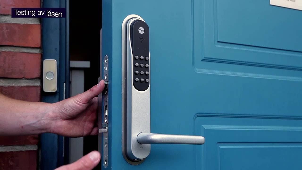 Moderne Yale Doorman montering - Yale Norge NM-36