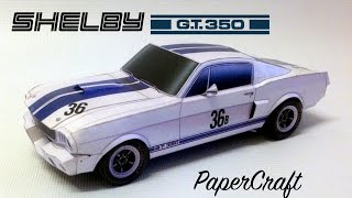 Shelby GT350R 1965 PaperCraft