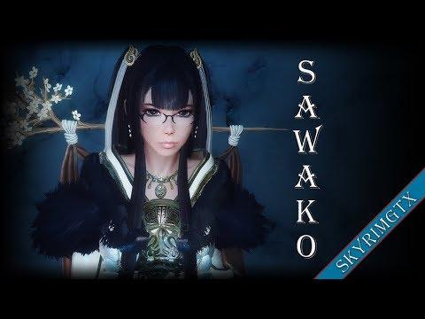 Skyrim: Sawako Follower 1.00 HDT