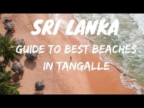SOUTH SRI LANKA   MOST AMAZING BEACHES 🏖️    TANGALLE