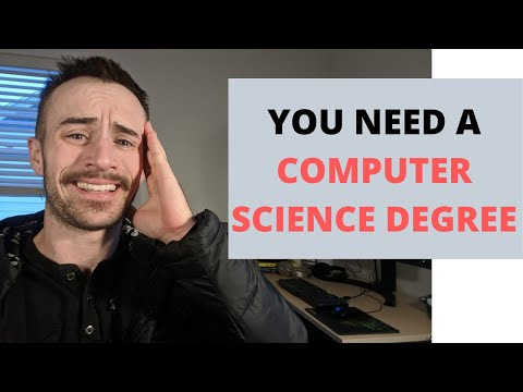 Why You NEED A Computer Science Degree - Software Engineering