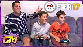 FIFA 17 - Father Vs Sons Family Gaming