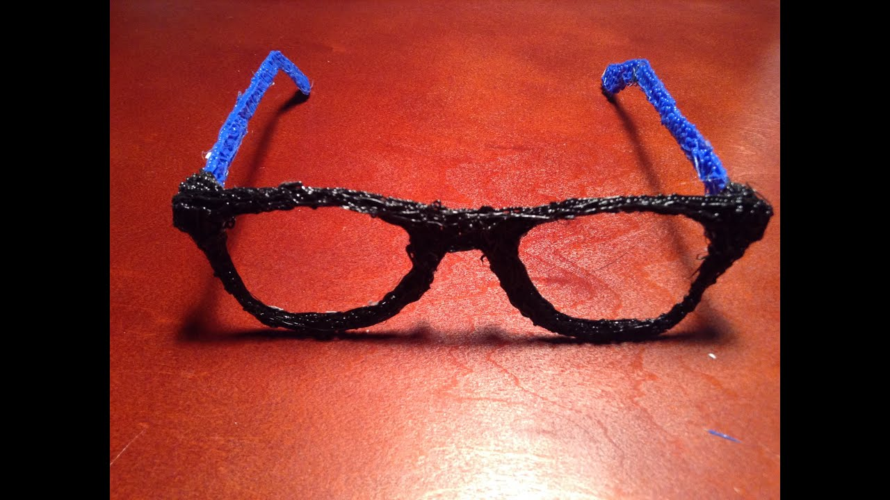 How To Make Glasses With A 3d Printing Pen Youtube