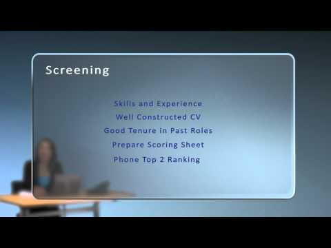 Phone Screening (How to Recruit Staff: Part 3)