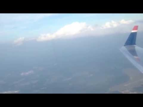 PSA(US Airways) Economy Class from Augusta-Charlotte|CRJ-200