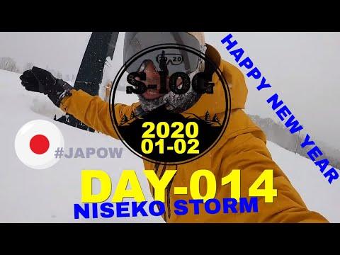 NEW YEARS NISEKO STORM S-LOG 2020 Day 14