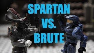 Halo Mega Bloks: Spartan vs. Brute