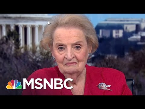 Madeleine Albright: I\'m Warning The American Public | Morning Joe | MSNBC