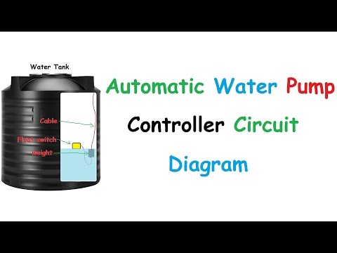 Water Level Motor On Off With Float Switch - YouTube on