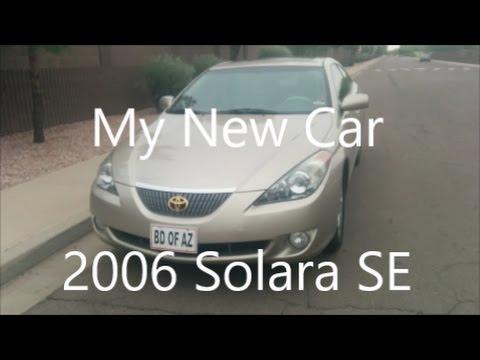 My New Car: 2006 Toyota Camry Solara SE