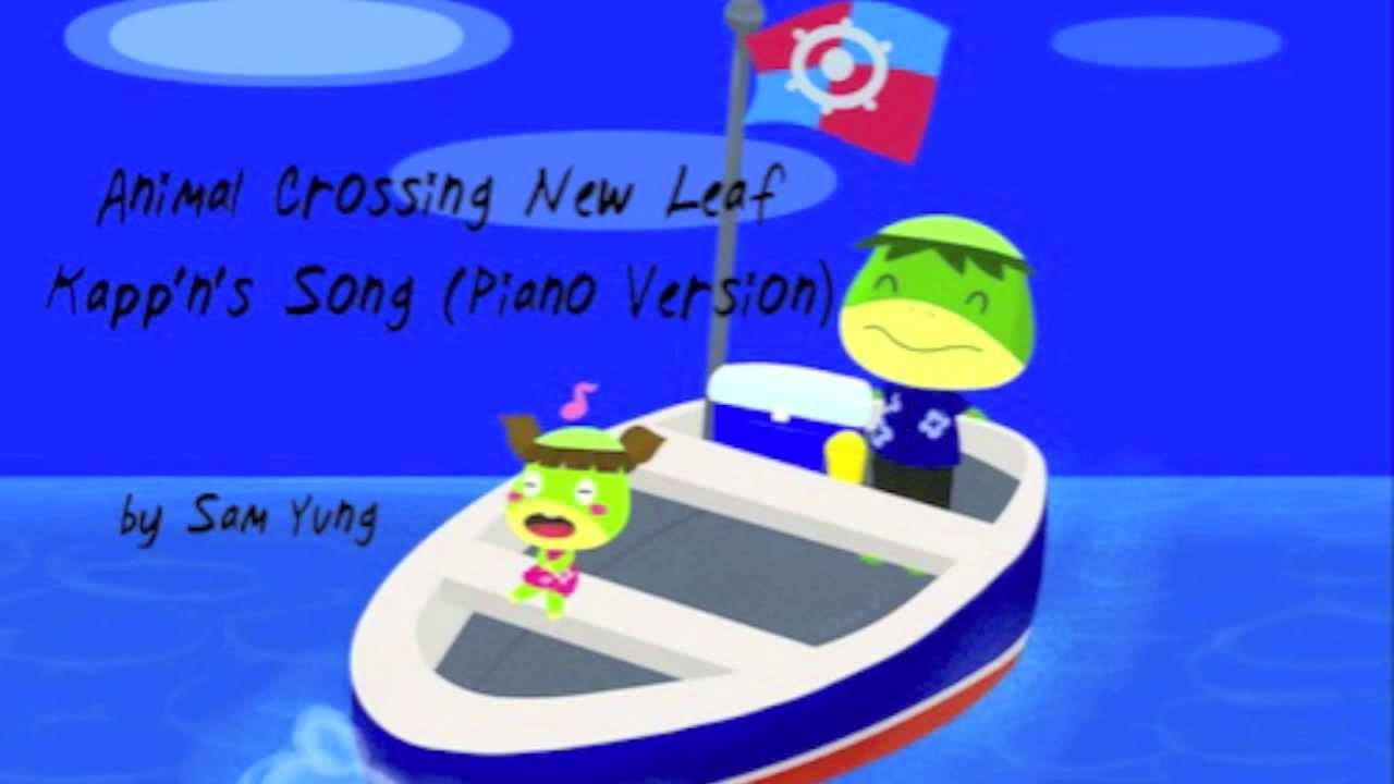 Animal Crossing New Leaf Island Song