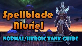Spellblade Aluriel  Nighthold NormalHeroic Tanking Guide