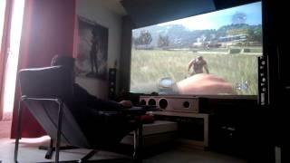 Extrait Dying Light PC sur Vidéo Projecteur Benq W1070+ 1080P