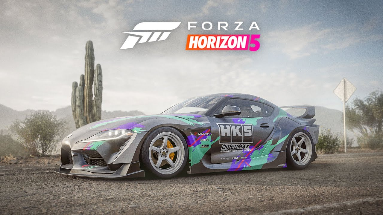 Forza Horizon 5 - HKS Supra