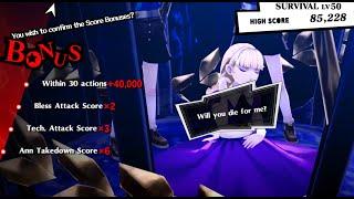 Persona 5 Royal - Max Score Alice & Yoshitsune Challenge Battle DLC