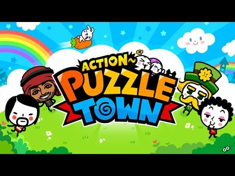 Action Puzzle Town (by Com2uS) Gameplay IOS / Android
