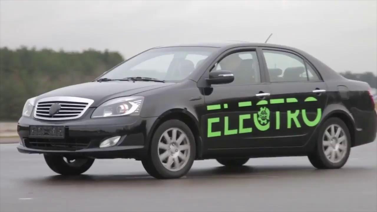 Белорусские разработчики представили первый электромобиль