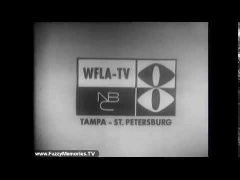 WFLA TV ch 8 TAMPA STATION ID FROM 1965