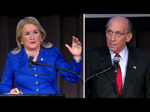 Sen. Sylvia Garcia and Phillip Aronoff in Texas U.S. House District 29 debate