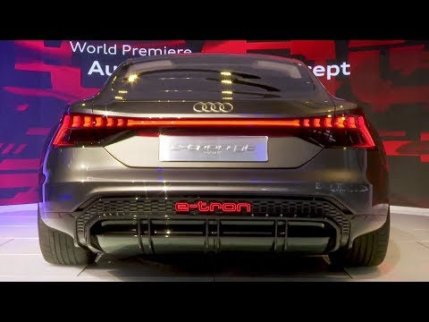 Audi e-tron GT Concept at the Los Angeles Auto Show