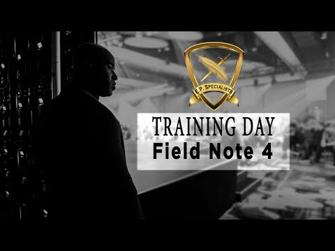 Executive Protection Lifestyle Training Day – Field Notes