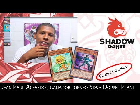 Deck Profile Y Combos Jean Paul Acevedo ,ganador Torneo 5ds Shadow Games Peru . Deck : Doppel Plant