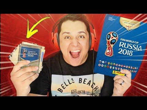 GASTEI R$ 100 REAIS EM PACOTINHOS!! Álbum DE FIGURINHAS Da Copa Do Mundo 2018 😱💰