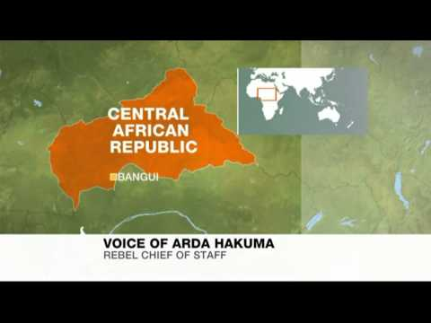 Rebels take presidential palace in Central African Republic