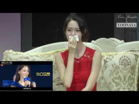 【YOONAYA独家】160730 Shanghai FM yoona watch the video:a letter to yoona[by YOONAYA](PIP video)