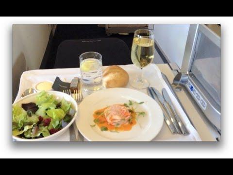 Business Class London to New York on British Airways