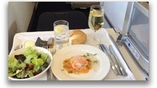 Business Class London to New York on British Airways