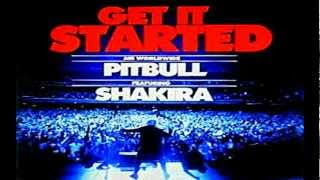 Pitbull Ft Shakira - Get It Started ((Official Track)) (Link Download) (lyrics)