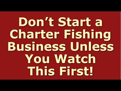 How To Start A Charter Fishing Business | Including Free Charter Fishing Business Plan Template