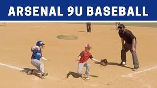 ⚾️ Arsenal vs CCR   9U Baseball Highlights