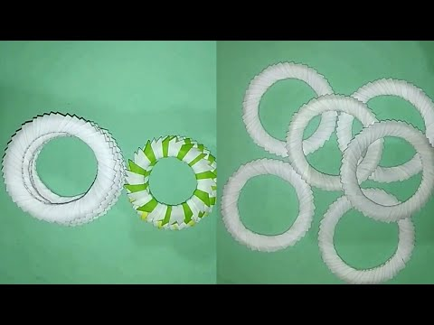 Paper Se Goal Ring Kaise Banaye || How To Make Beautiful Goal Ring For Paper || Arts Son Megicul