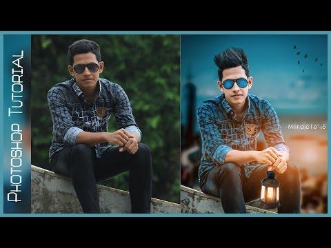 Photoshop  Manipulation Tutorial   Edit Like Swappy Pawar