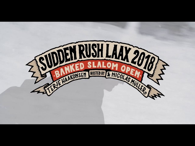 SuddenRush Banked Slalom 2018