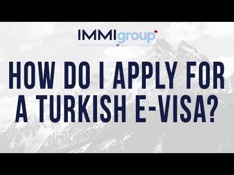 How do I apply for a Turkish e Visa?
