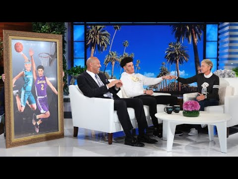 Thumbnail: L.A. Lakers Rookie Lonzo Ball and Dad LaVar Talk About Being True 'Ballers'