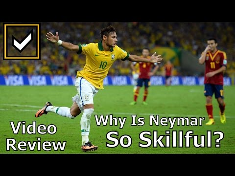 Why is Neymar so skillful? The Last real Brazilian plays on!