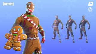 Fortnite: Gingerbread Skins Return!