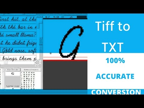 Convert Tiff To Text – 100% Accuracy