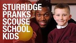 Daniel Sturridge surprises unsuspecting school kids