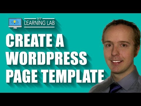 WordPress pages themes
