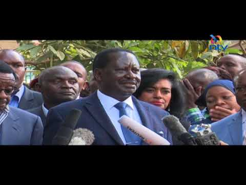 Raila Odinga's blistering response to Western nations over silence on police killings