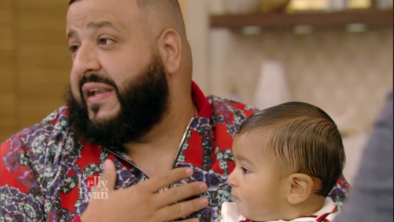 How DJ Khaled's Baby Son Asahd Stole the Show at the 2017 BET Awards
