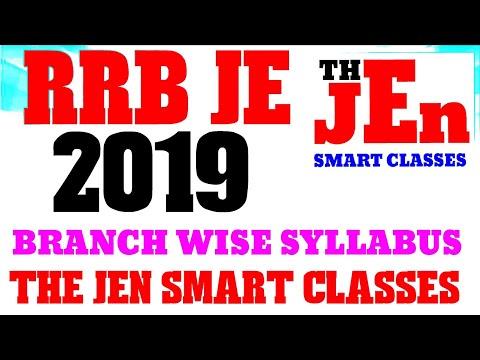 RRB JE RECRUITMENT 2018 SYLLABUS || रेलवे भर्ती बोर्ड JE/DMS/CMA 2019 सम्पूर्ण SYLLABUS 2019 (भाग 2)