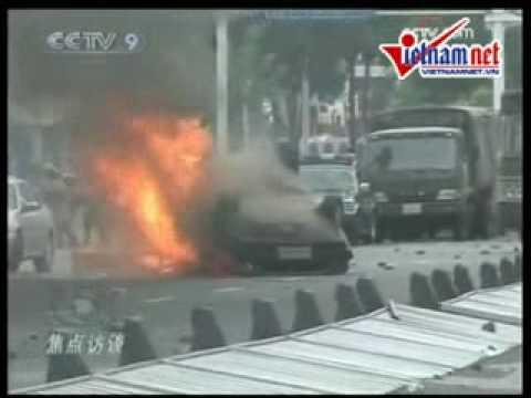 Bạo lực bùng phát ở Tân Cương 5/7/2009 , hơn 156 người chết